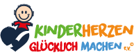 Kinderherzen glücklich machen Logo
